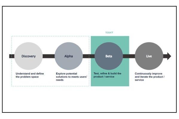 An infographic describing agile terminology.