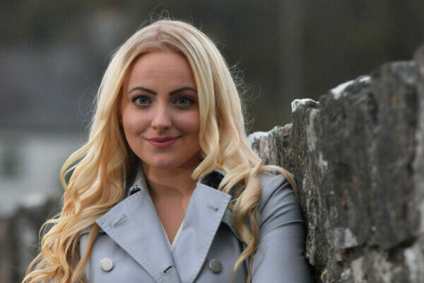 Jessica Leigh-Jones, Bridgend, who is writing and article for the Western Mail on Woman/leadership/business
